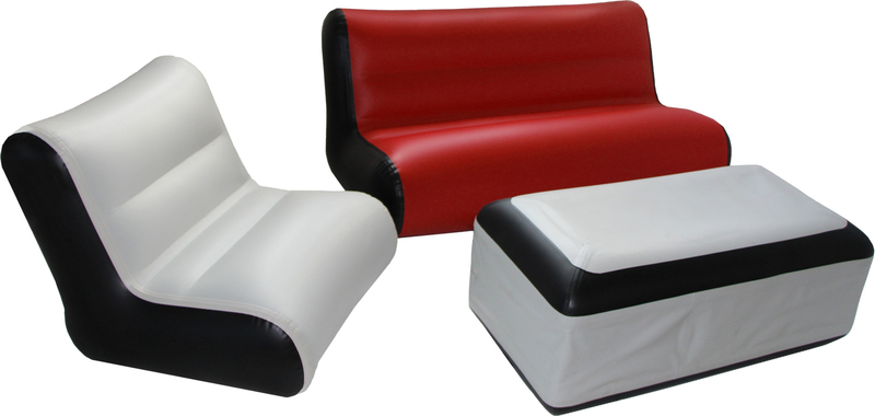 Sofa aufblasbar rot for Sofa aufblasbar