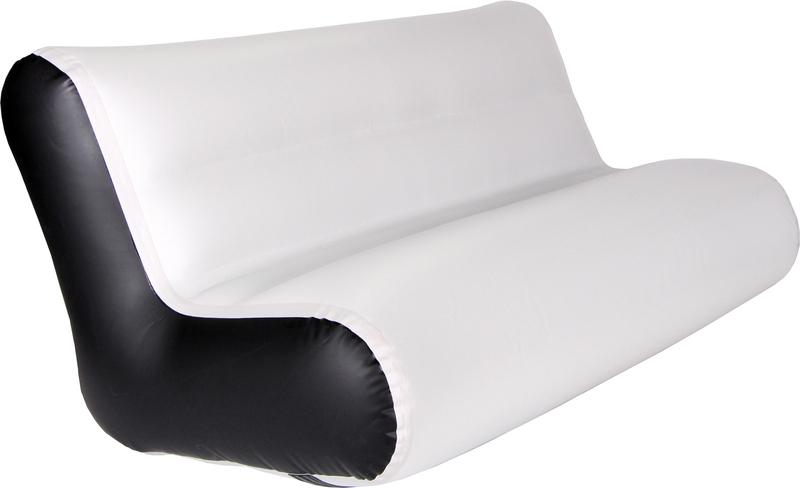 Sofa aufblasbar hellgrau for Sofa aufblasbar